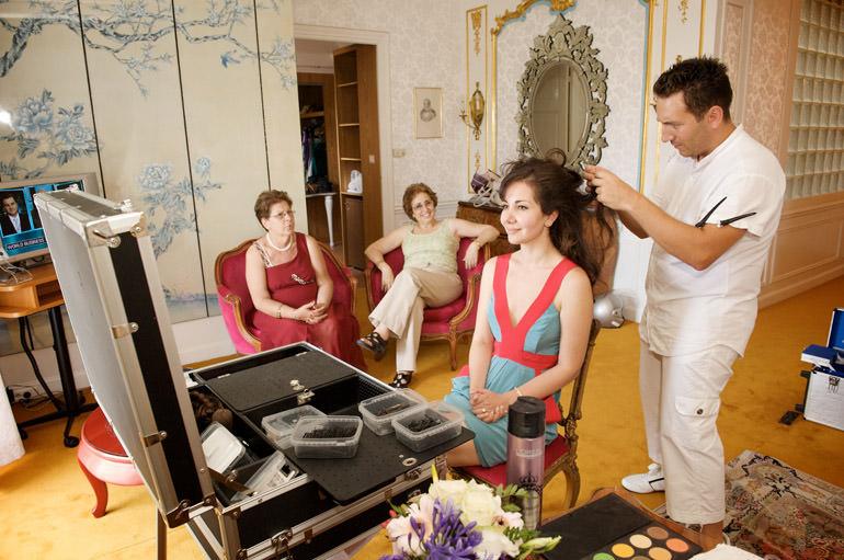 wedding planner, organisatrice de mariage à Nice. Mariage d'A et J