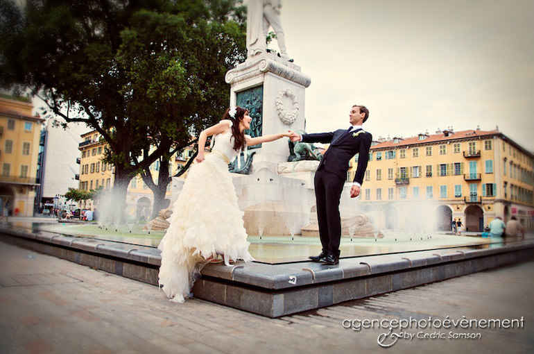 Organisatrice mariage, Mariage Nice. Mariage d'A et J