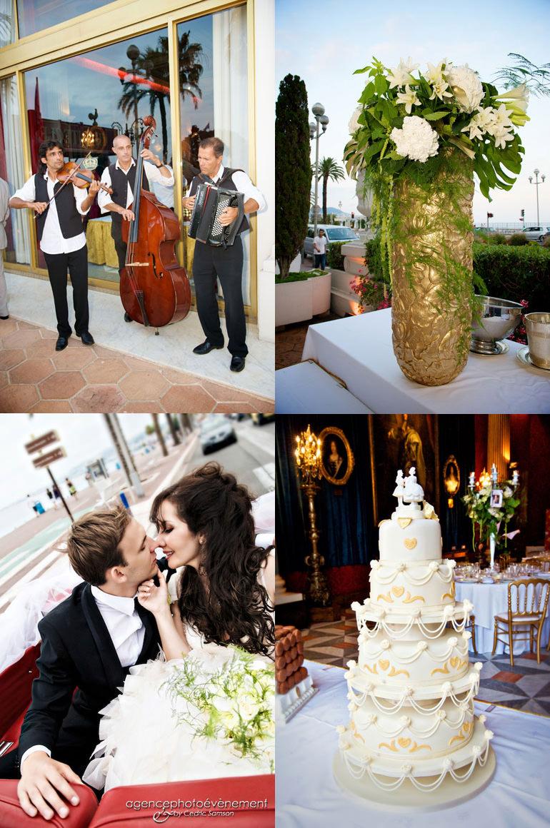 organisatrice de mariage à Nice sur la côte d'azur. Mariage d'A et J