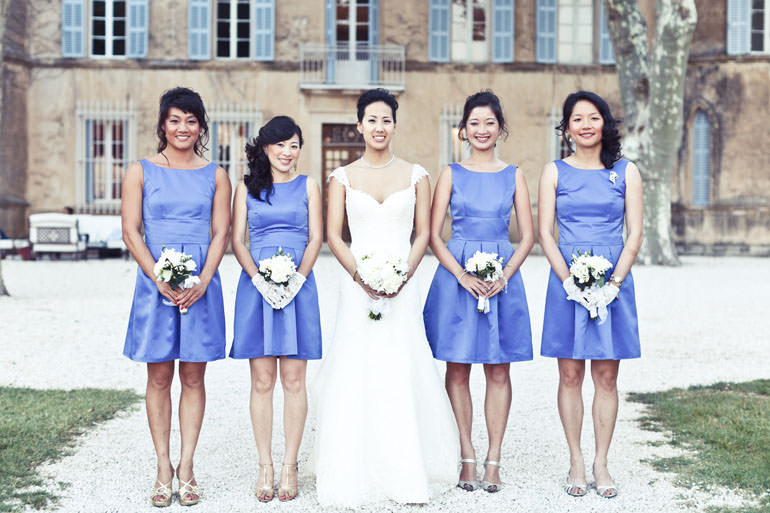 Wedding Angels - weddings in France - J and E wedding