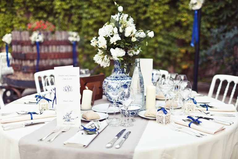 Wedding Angels - wedding organiser on the French Riviera - J and E wedding