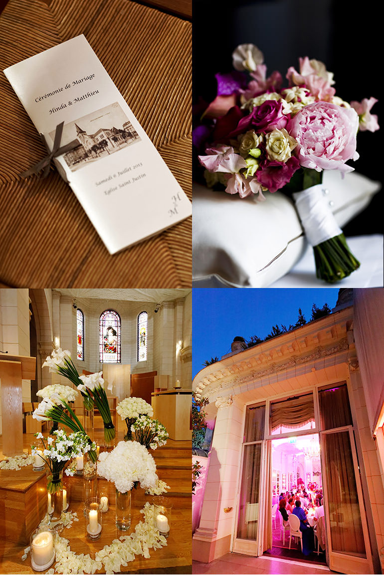 Wedding Angels - wedding in Paris - H and M's wedding