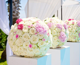 organisation d'un mariage à Cannes par un wedding planner Cannes